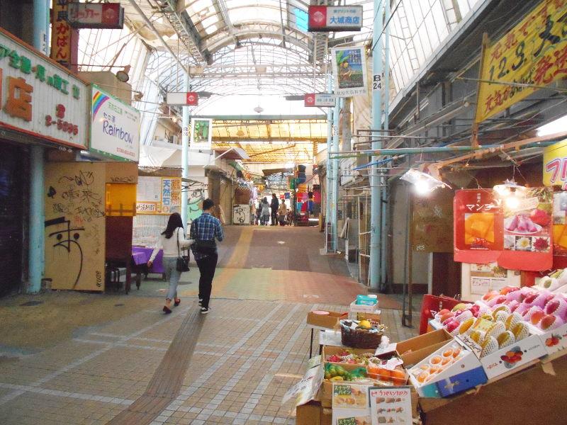 沖縄・那覇で年越し2018その7・平和通りとアーケード商店街-1706