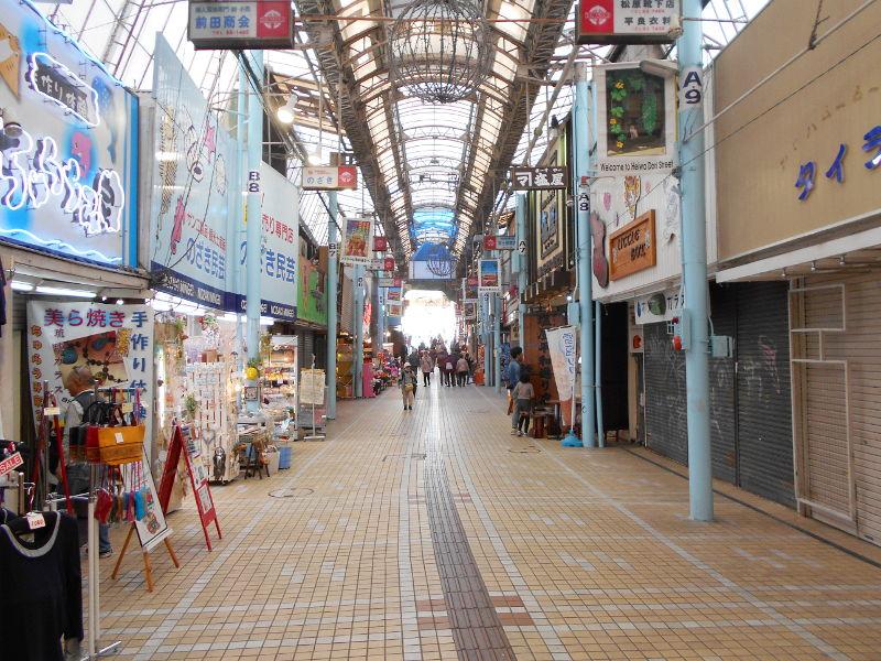 沖縄・那覇で年越し2018その7・平和通りとアーケード商店街-1707