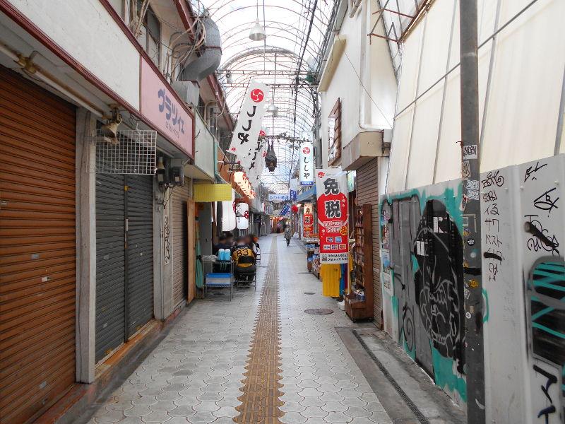 沖縄・那覇で年越し2018その7・平和通りとアーケード商店街-1714