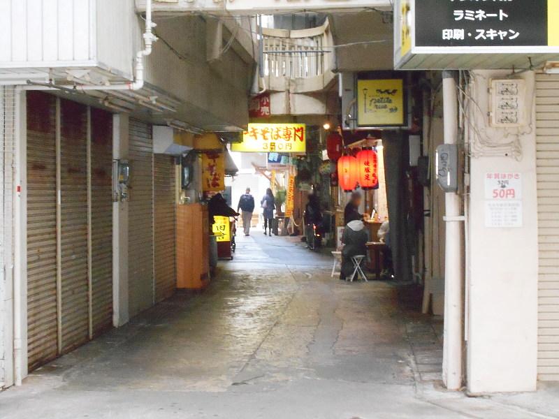 沖縄・那覇で年越し2018その7・平和通りとアーケード商店街-1724