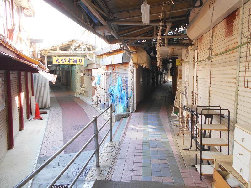 沖縄・那覇で年越し2018その7・平和通りとアーケード商店街-1725
