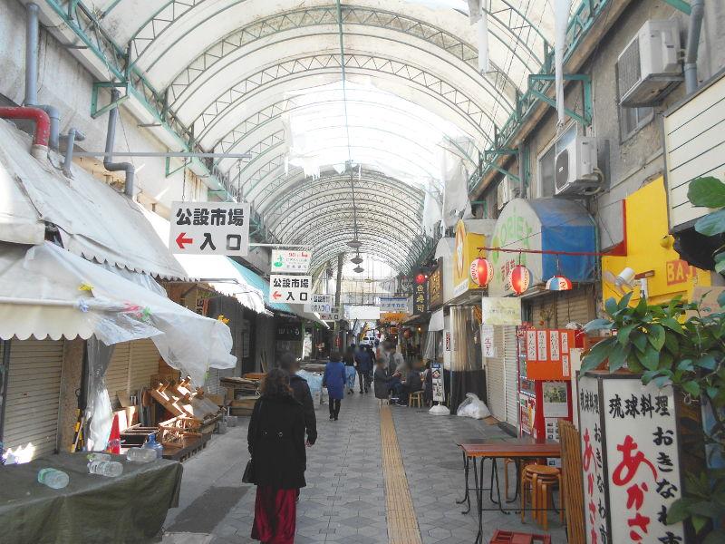 沖縄・那覇で年越し2018その7・平和通りとアーケード商店街-1727