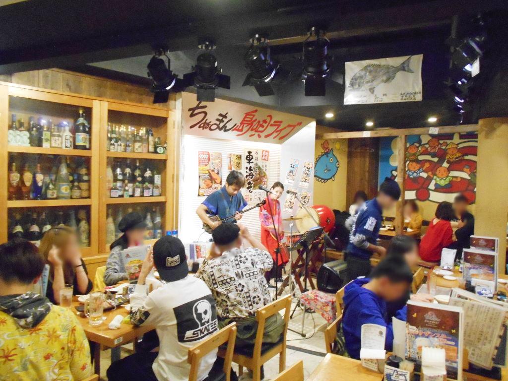 沖縄・那覇で年越し2018その8・国際通りの居酒屋「ちぬまん」-1828