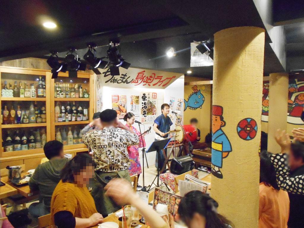 沖縄・那覇で年越し2018その8・国際通りの居酒屋「ちぬまん」-1835