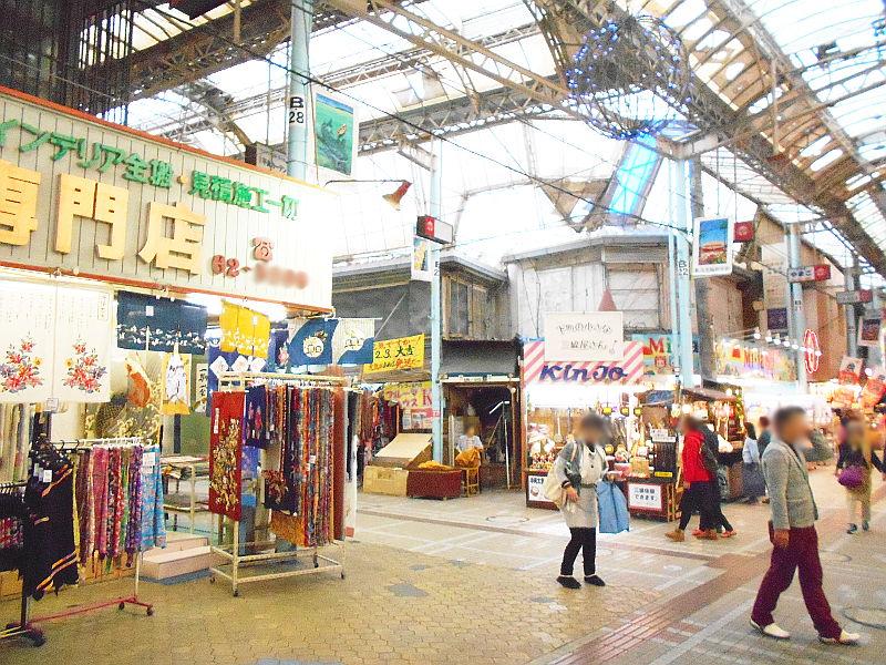 沖縄・那覇で年越し2018その15・おもろまち新都心と公設市場-2526