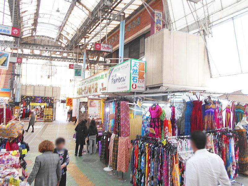 沖縄・那覇で年越し2018その15・おもろまち新都心と公設市場-2528