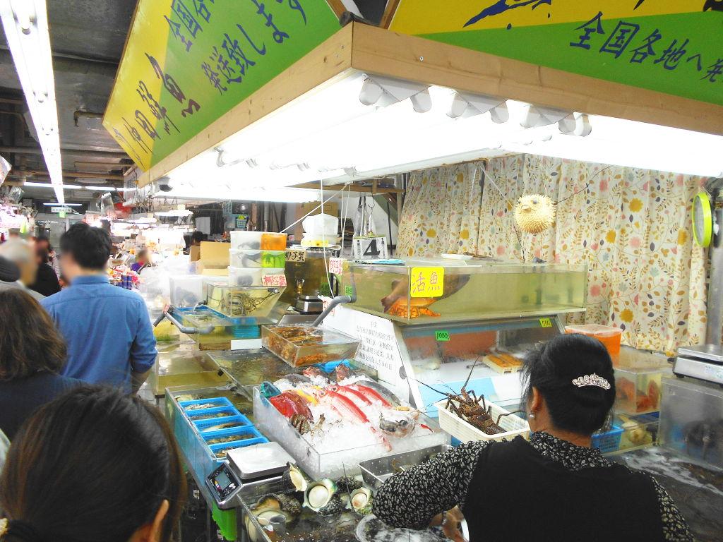 沖縄・那覇で年越し2018その15・おもろまち新都心と公設市場-2531