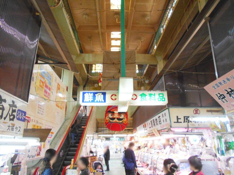 沖縄・那覇で年越し2018その15・おもろまち新都心と公設市場-2534