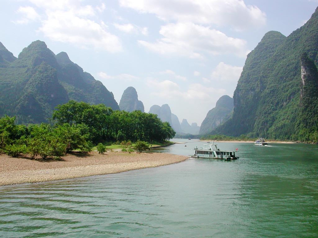 桂林・漓江でまったり2007-1001