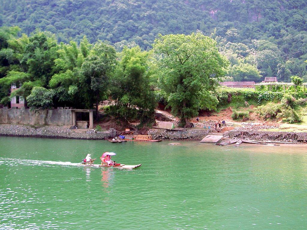 桂林・漓江でまったり2007-1002