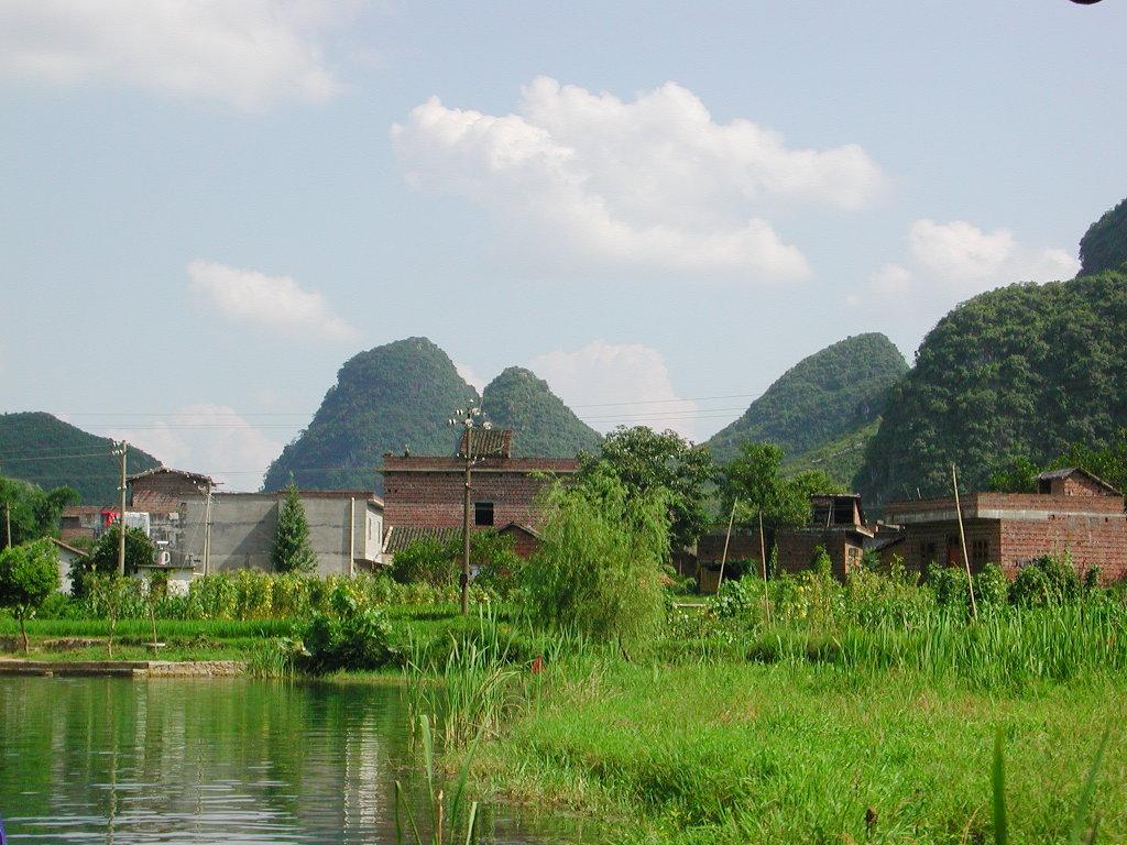 桂林・漓江でまったり2007-1003