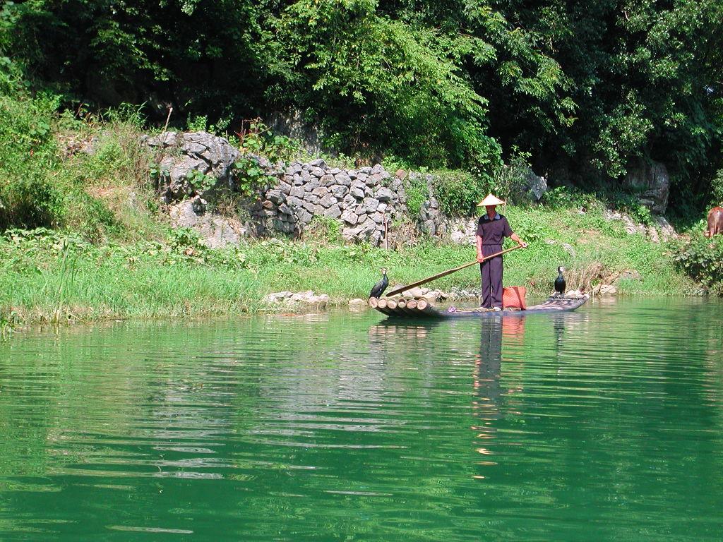 桂林・漓江でまったり2007-1005
