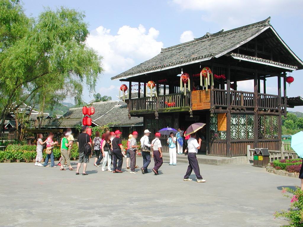 桂林・繍球楼2007-1201