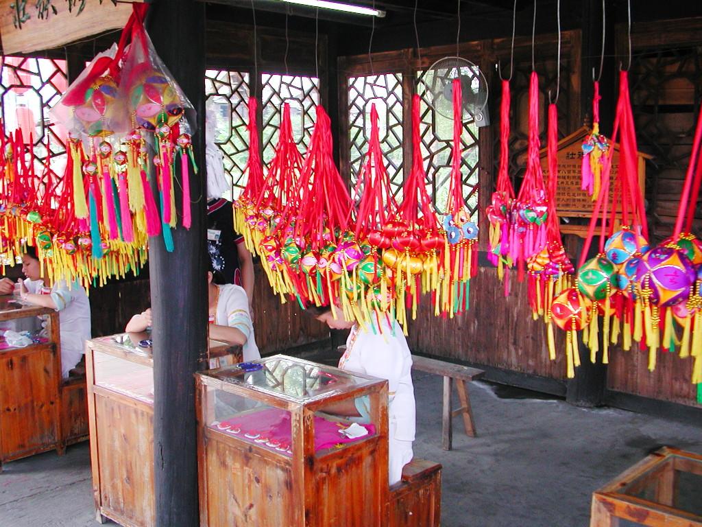 桂林・繍球楼2007-1203