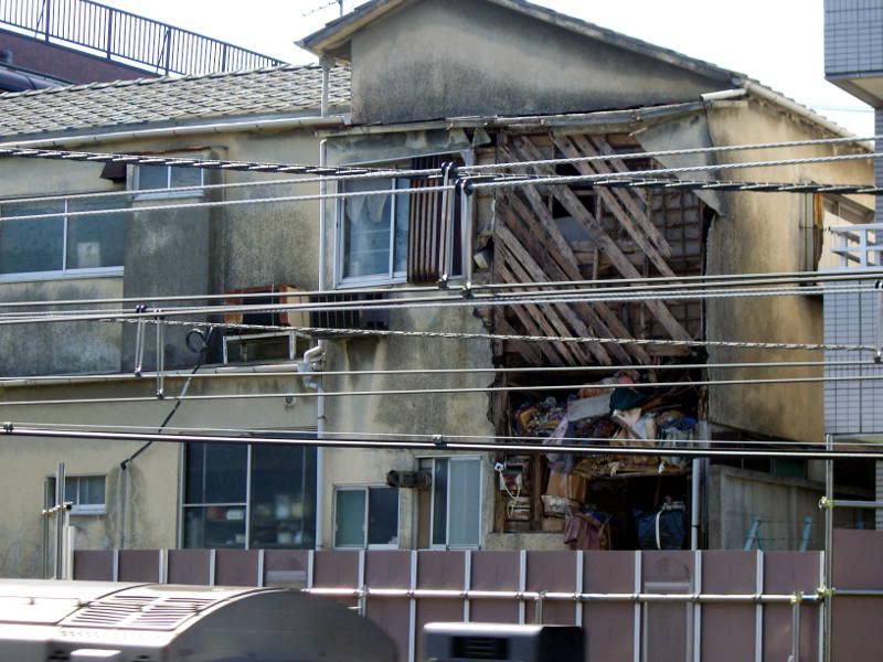新井薬師前・崩壊アパート2014春-2004