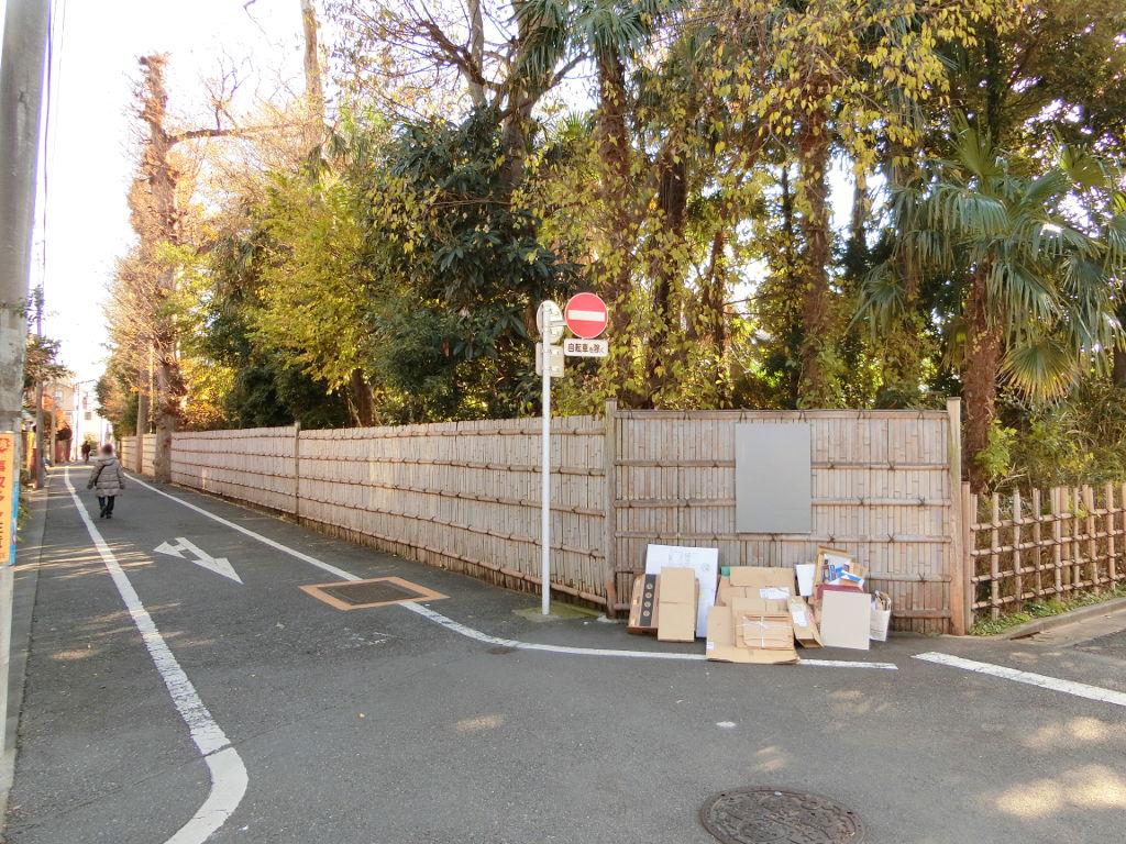 東京都中野区・新井薬師前駅付近の「たきび」の歌発祥の地2019秋-1012