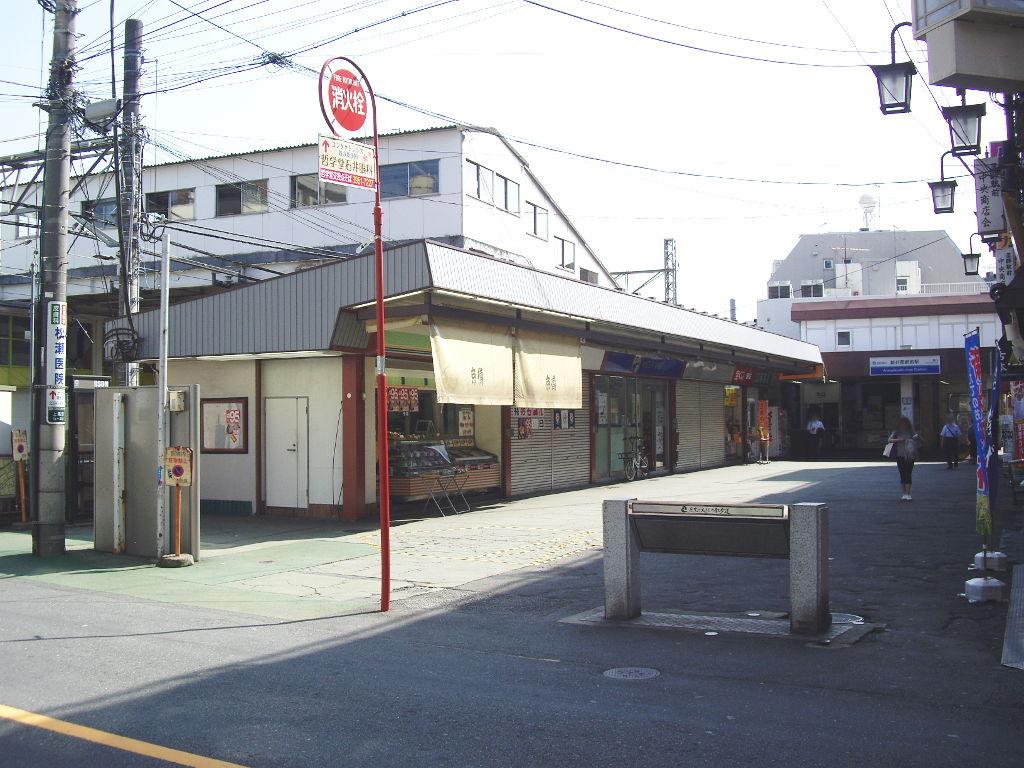 西武新宿線新井薬師前駅2018春-8107