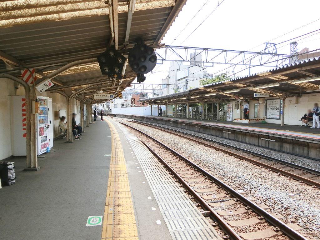 西武新宿線新井薬師前駅2018春-8110