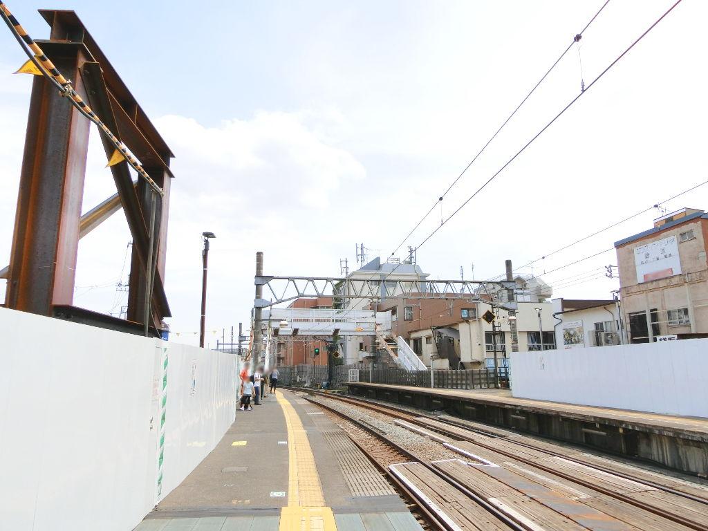 西武新宿線新井薬師前駅2018春-8113