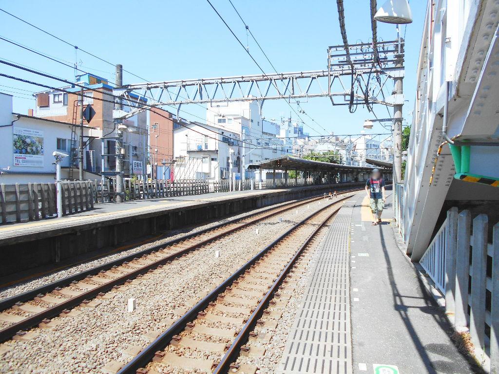 西武新宿線新井薬師前駅2018春-8120