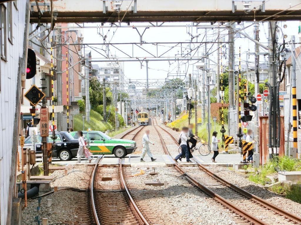 西武新宿線新井薬師前駅2018春-8126
