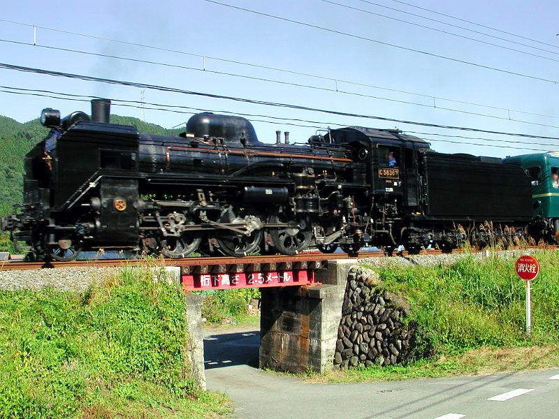 秩父のSL、C58・2007秋-5801