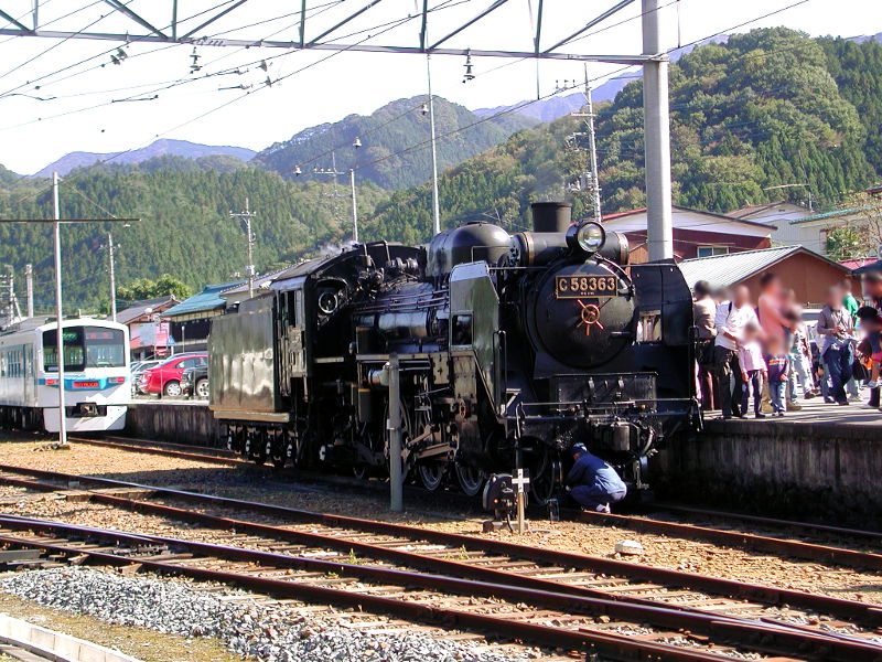 秩父のSL、C58・2007秋-5805