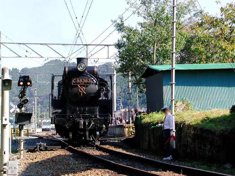 秩父のSL、C58・2007秋-5808