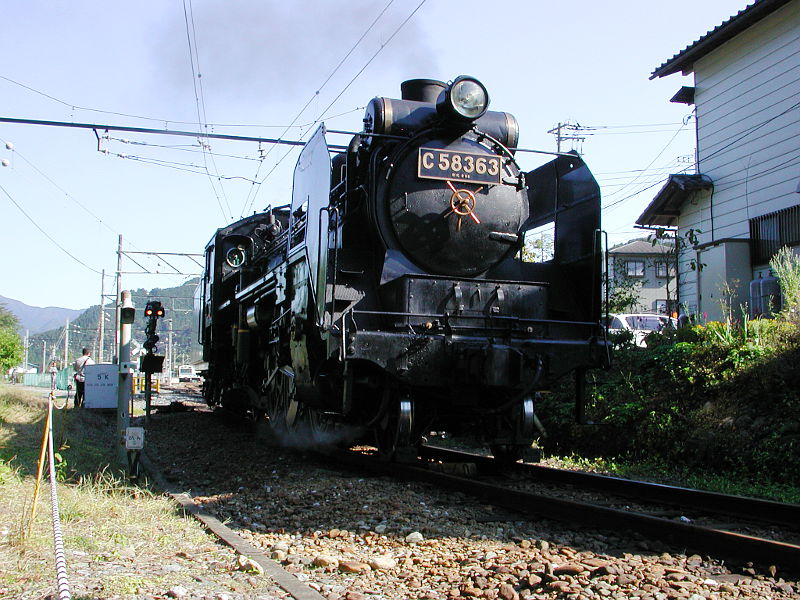 秩父のSL、C58・2007秋-5809