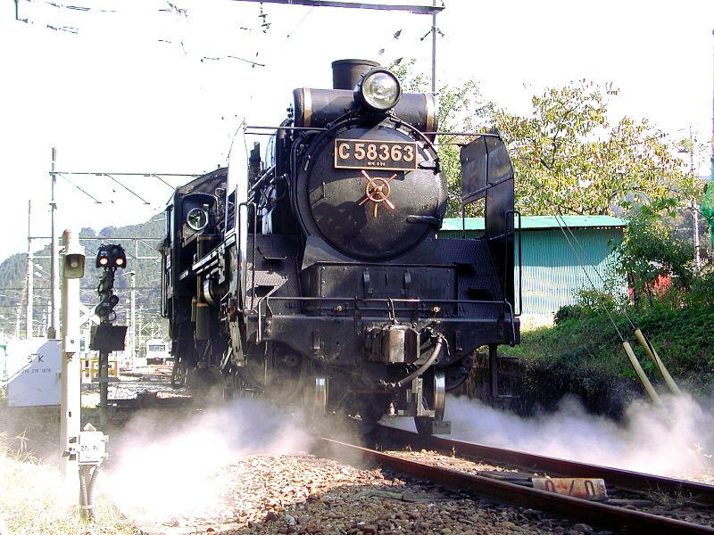 秩父のSL、C58・2007秋-5812