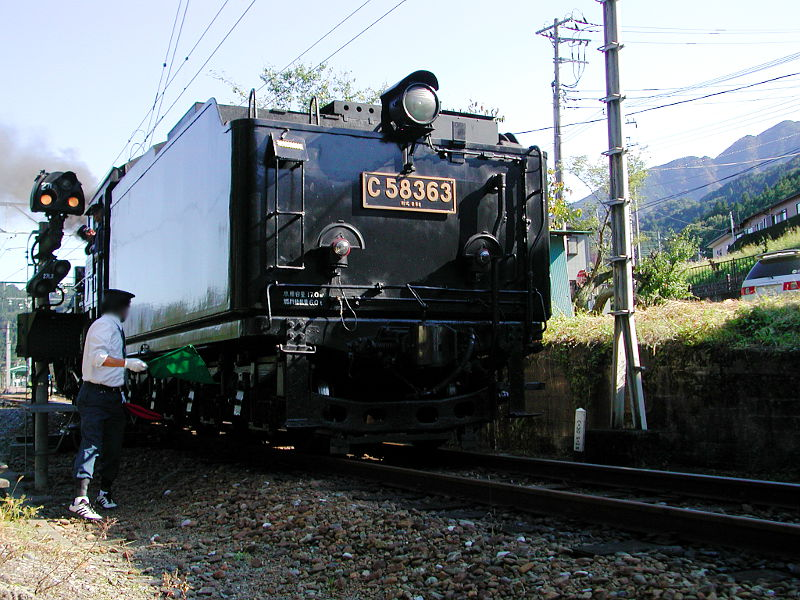 秩父のSL、C58・2007秋-5815