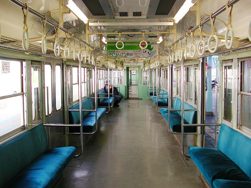 秩父鉄道1000系・2007-1005