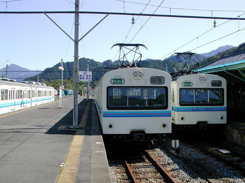 秩父鉄道1000系・2007-1012