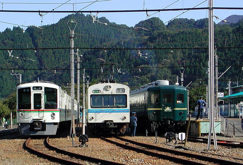 秩父鉄道1000系・2007-1013