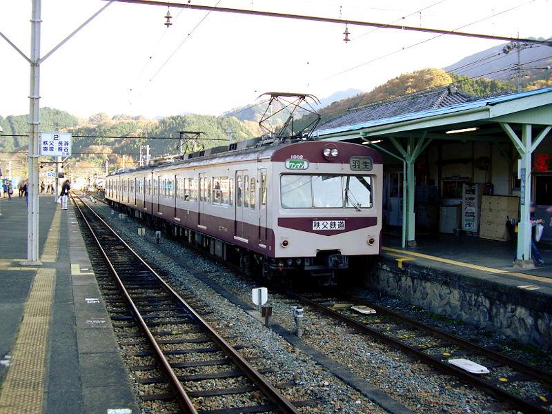 秩父鉄道1000系小倉アイス・2009-1201
