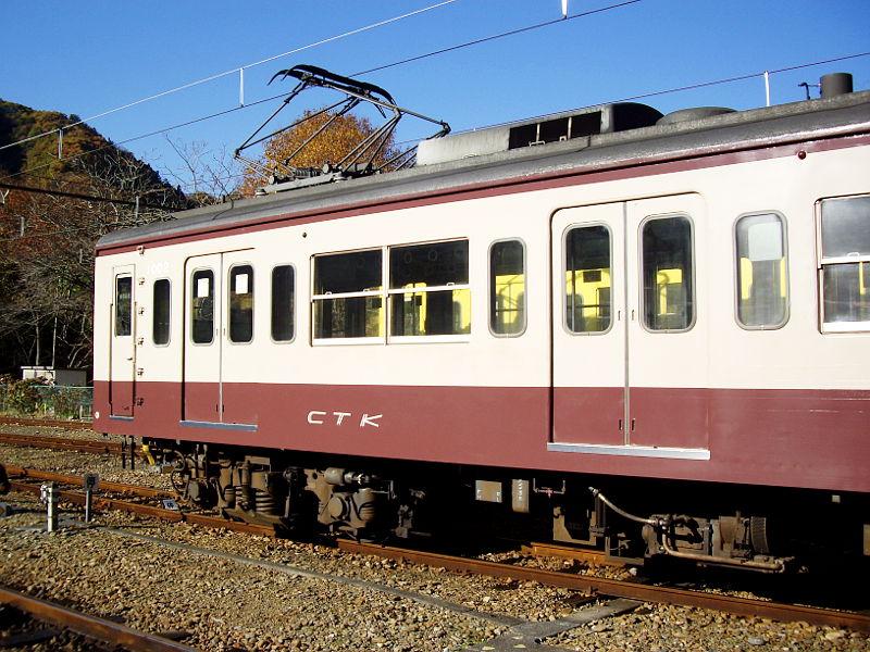 秩父鉄道1000系小倉アイス・2009-1205