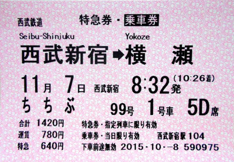 「ちちぶ99号」で行く秩父の旅2015冬-9901