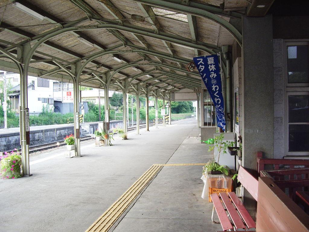 秩父鉄道・上長瀞駅2012夏-9002