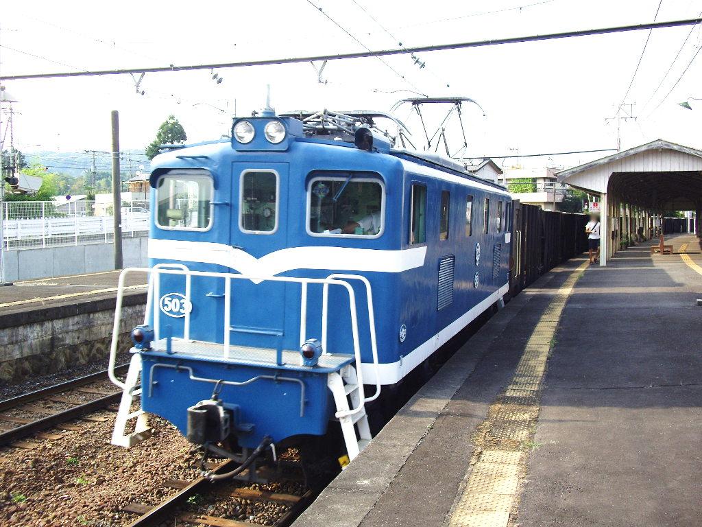 秩父鉄道・上長瀞駅2012夏-9005