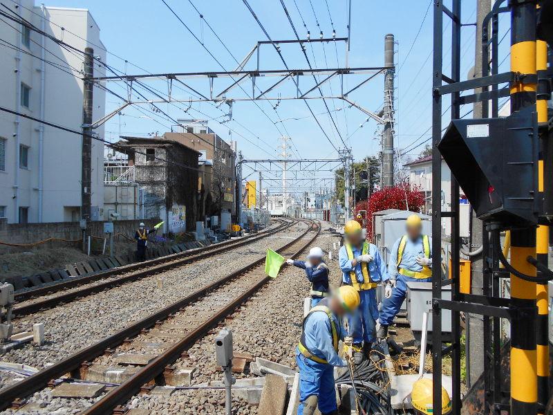西武新宿線沼袋駅その後2017春-8101
