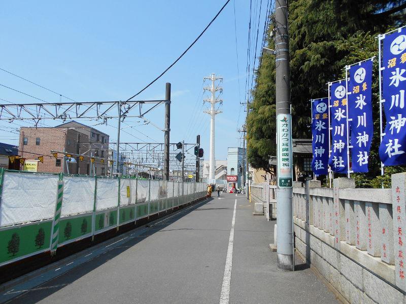 西武新宿線沼袋駅その後2017春-8103