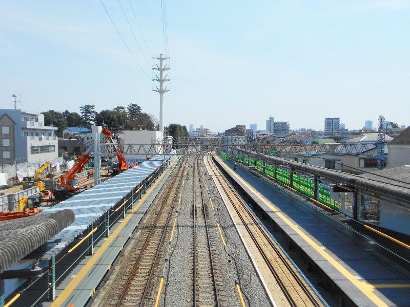 西武新宿線沼袋駅その後2017春-8109