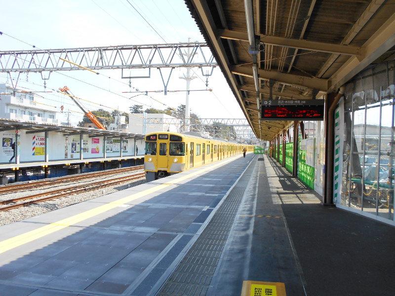 西武新宿線沼袋駅その後2017春-8113