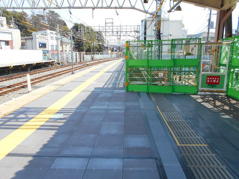西武新宿線沼袋駅その後2017春-8115
