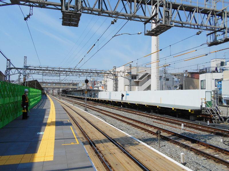 西武新宿線沼袋駅その後2017春-8121