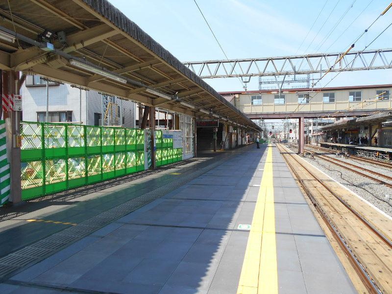 西武新宿線沼袋駅その後2017春-8123