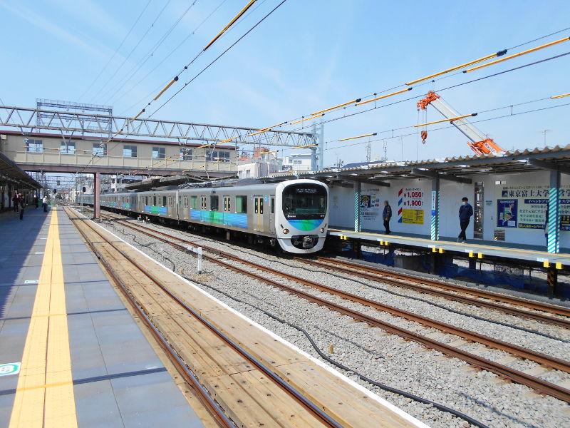 西武新宿線沼袋駅その後2017春-8124