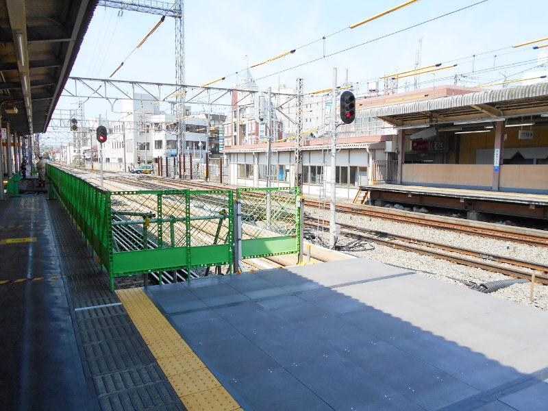 西武新宿線沼袋駅その後2017春-8125