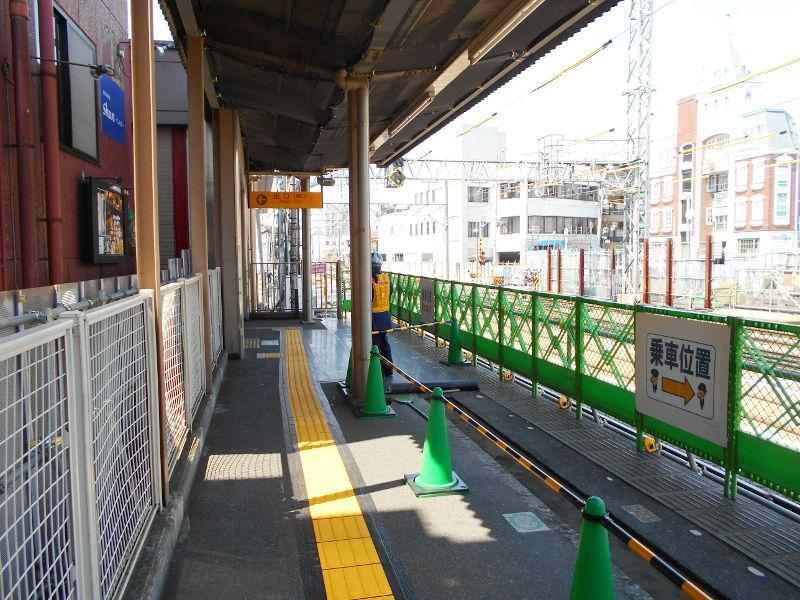 西武新宿線沼袋駅その後2017春-8128