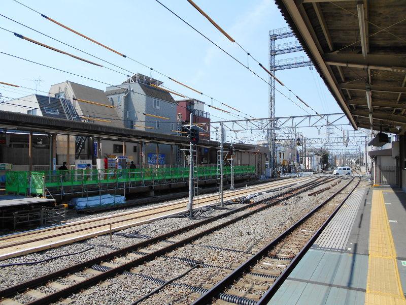 西武新宿線沼袋駅その後2017春-8130